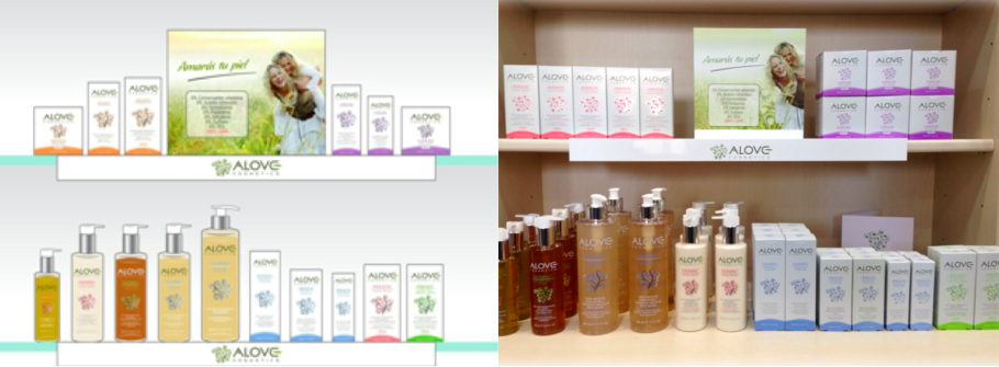 lineal alove cosmetics